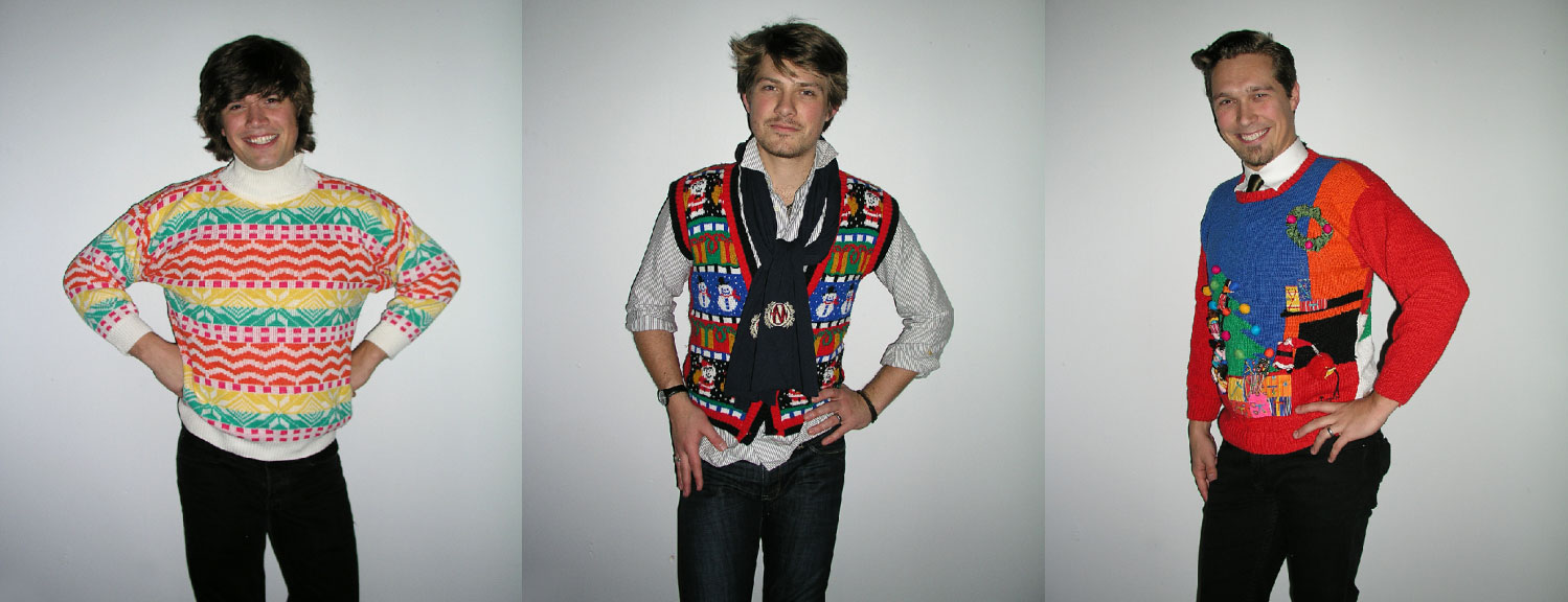 Rock Your Ugly Christmas Sweater   Hanson Parties in Ugly
