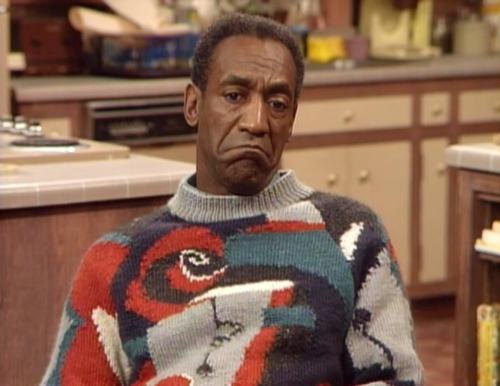 Picture of Bill Cosby ugly sweater