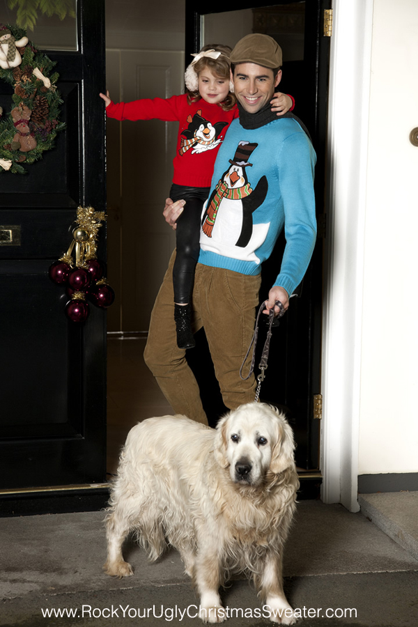 Picture of penguin Funky Christmas Jumpers