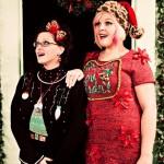 Boudoir Bombshells ugly christmas sweaters