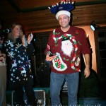 The Foundry ugly Christmas sweater party winner