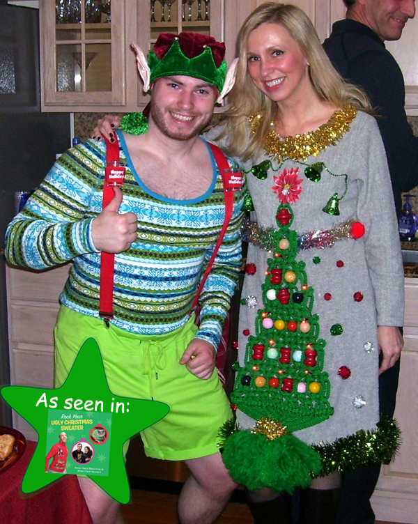 Rock Your Ugly Christmas Sweater The Elf On The Ugly Christmas Sweater