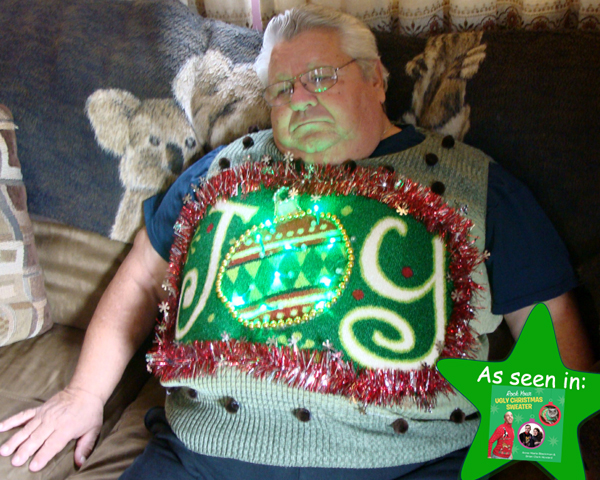Rock Your Ugly Christmas Sweater Merry Christmas