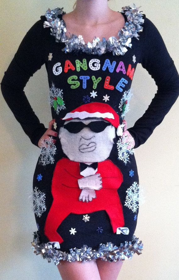 Hilarious Homemade Ugly Christmas Sweaters