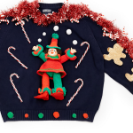 Rent the Runway ugly Christmas sweater