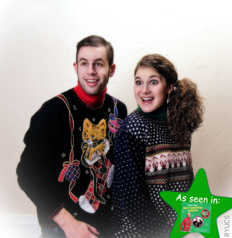 Rock Your Ugly Christmas Sweater Awesome 80s Ugly Sweaters