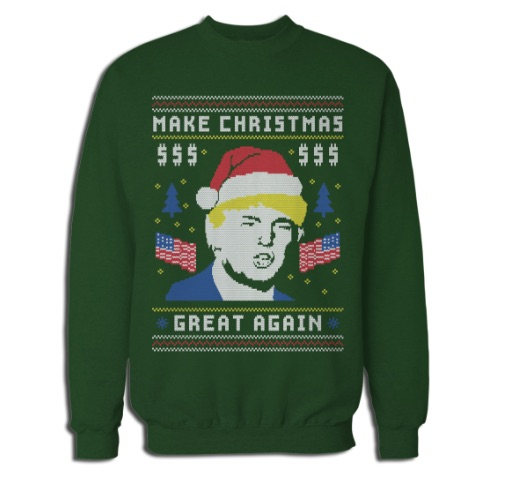 Rock Your Ugly Christmas Sweater   Vote (in Ugly Political
