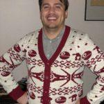 Star Wars v-neck ugly Christmas sweater