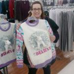 Unicorn believe ugly Christmas sweater