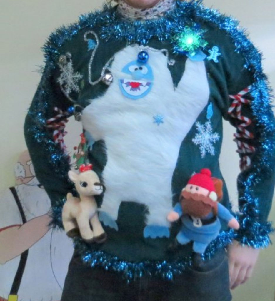 Bumble homemade ugly Christmas sweater